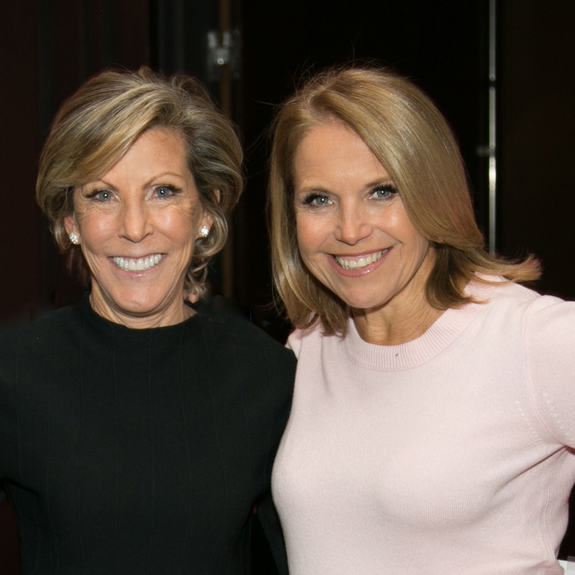 Kathy Giusti and Katie Couric