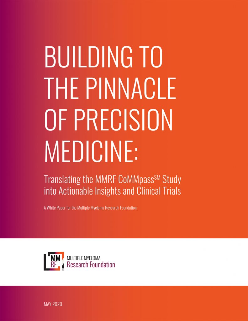 Building to the Pinnacle of Precision Medicine
