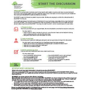 Blenrep Doctor Discussion Prompt