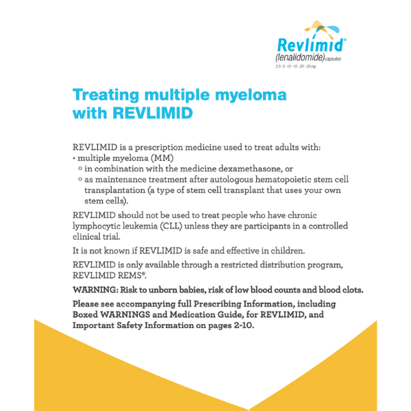 REVLIMID Treatment Overview