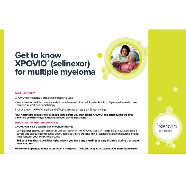 What is Xpovio?