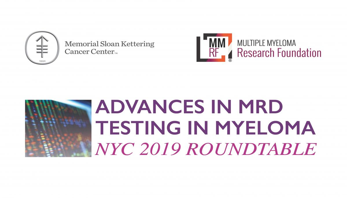 Minimum Residual Disease NYC Roundtable